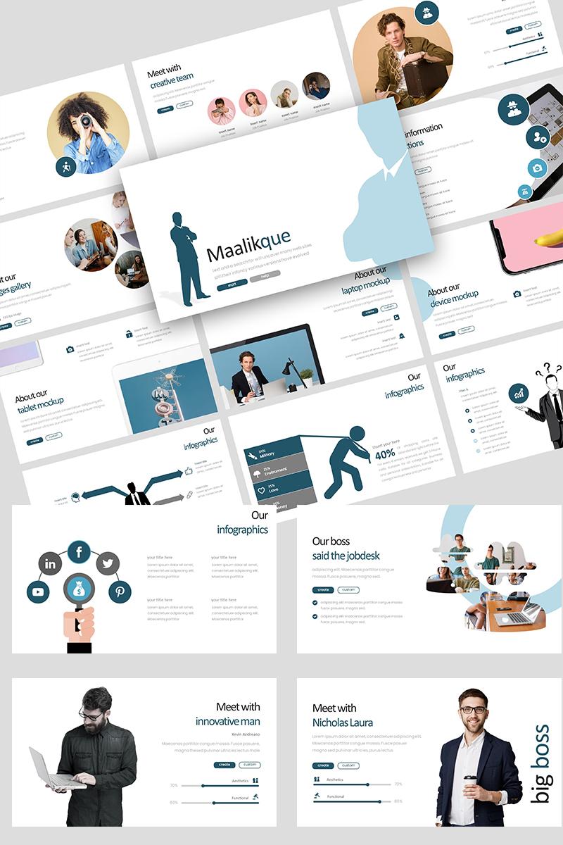 Maliikque Creative Business PowerPoint Template