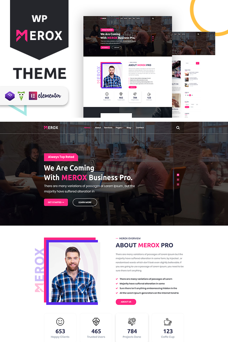 Merox - Corporate WordPress Theme