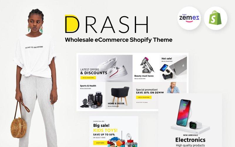 "Shopify Theme namens ""Drash - Shopify Wholesale eCommerce Template"" #100097"