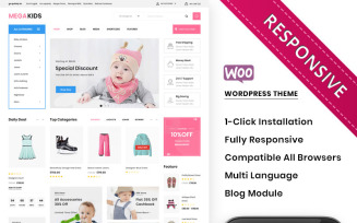 Megakids - The Mega Toy Store WooCommerce Theme