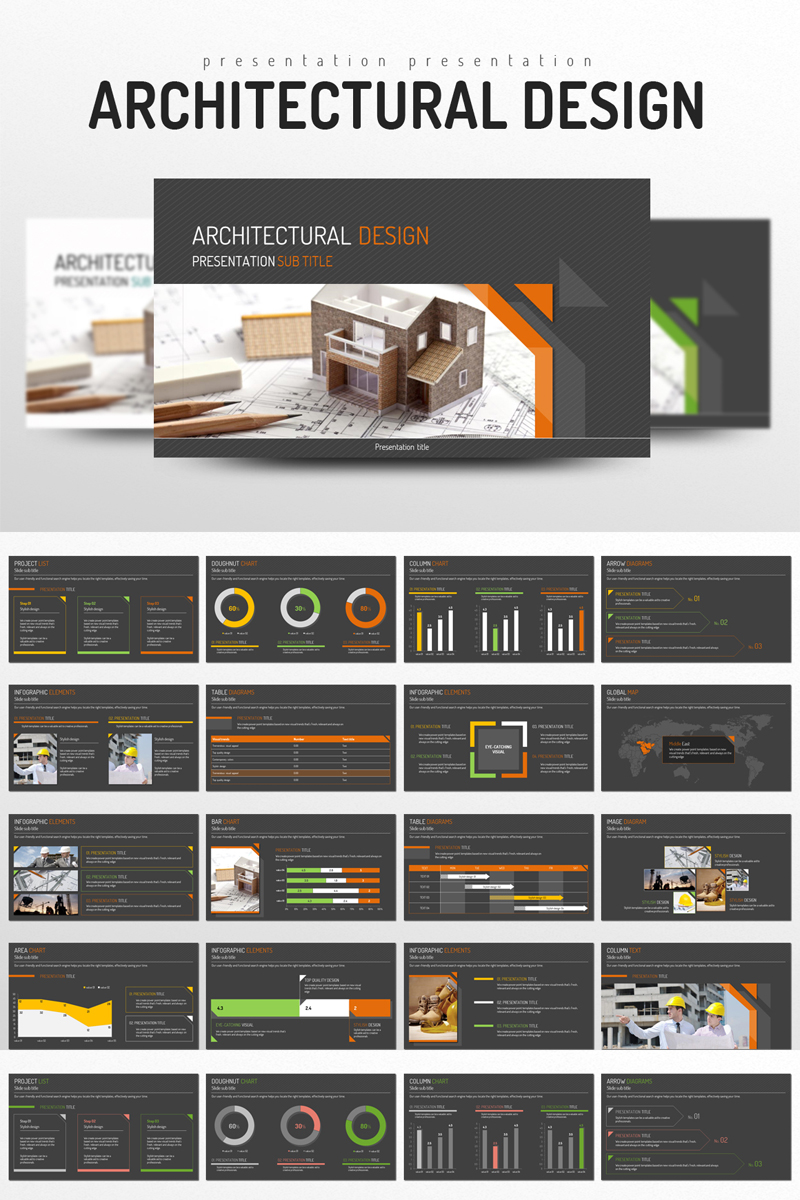 Architectural Design PowerPoint Template