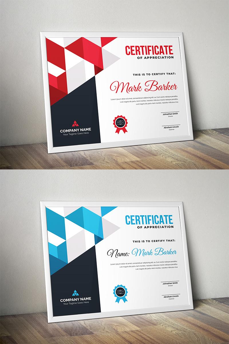 Geometric Certificate Template