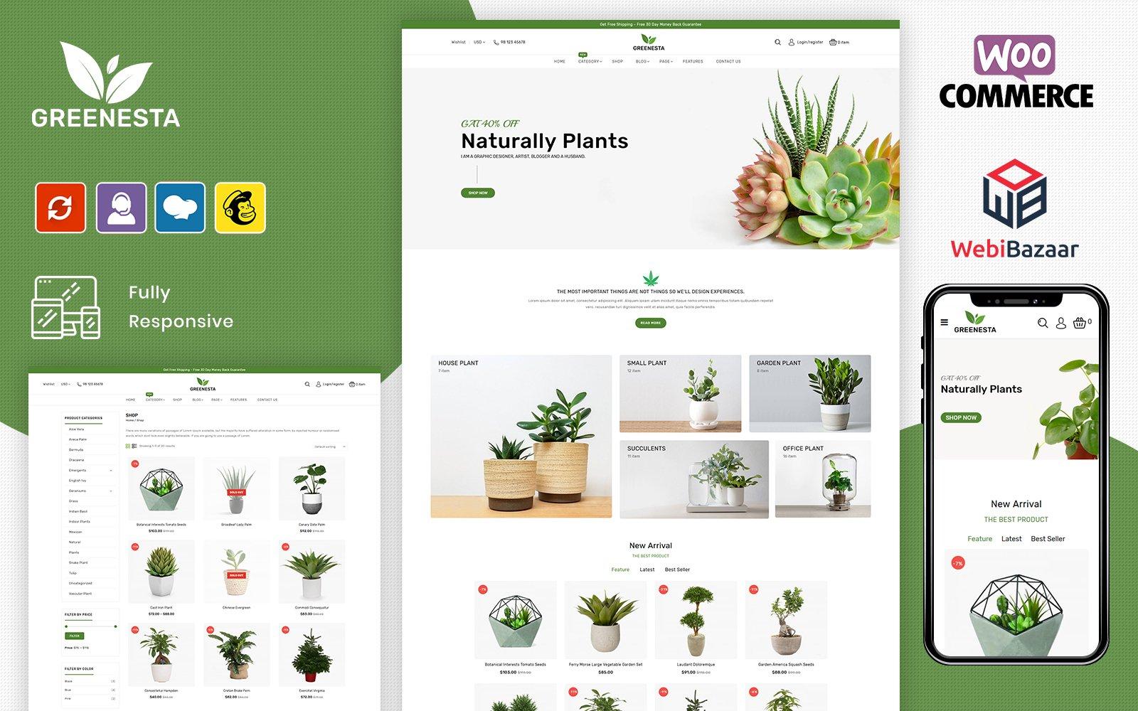 Organic Food Grocery Woocommerce Store By Webibazaar Templatemonster