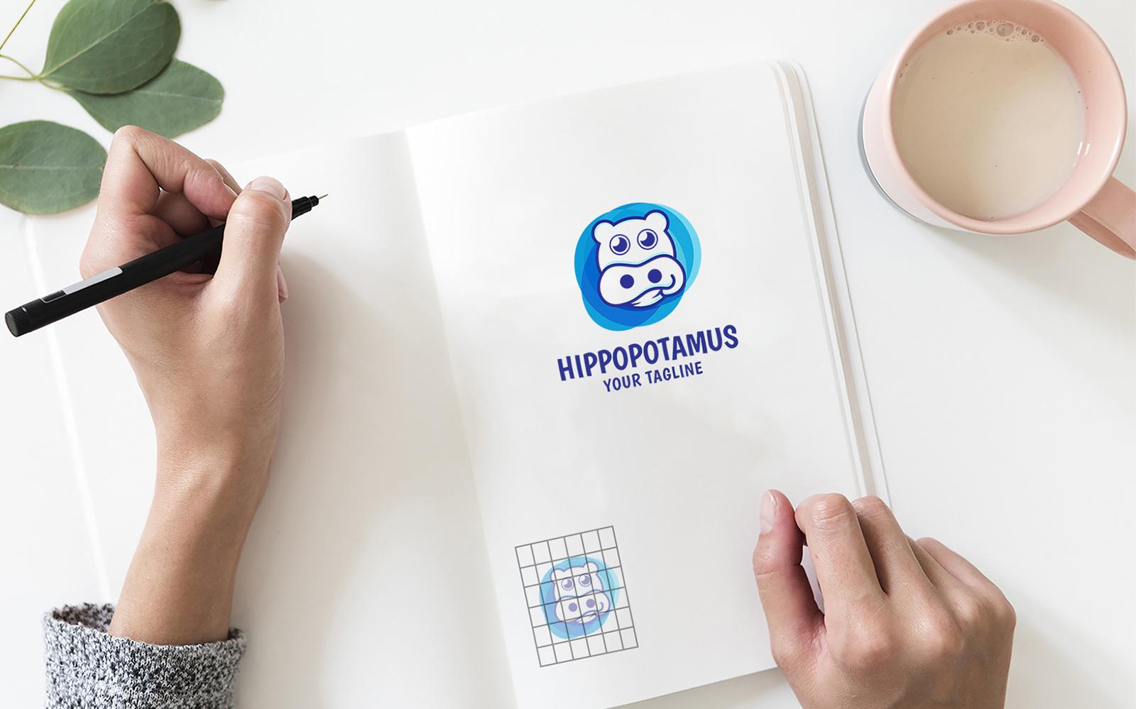 """Plantilla De Logotipo """"unique hippos"""" #100298"""