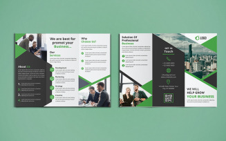 Trifold Brochure Design - Corporate Identity Template