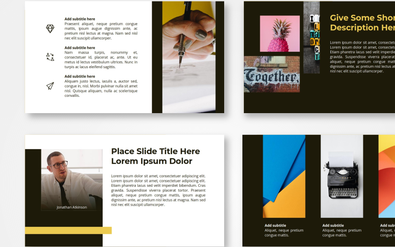 Garaga - Creative PowerPoint Template