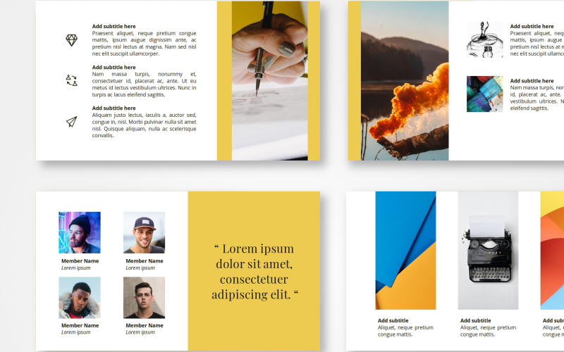 Gundala - Creative PowerPoint Template