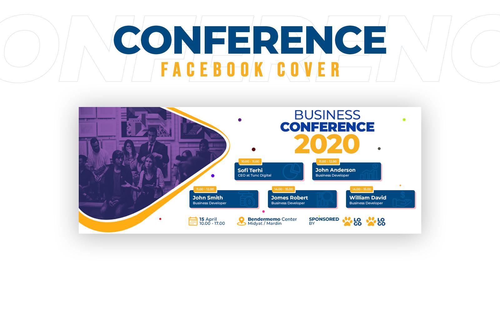 Conference Facebook Cover Social Media