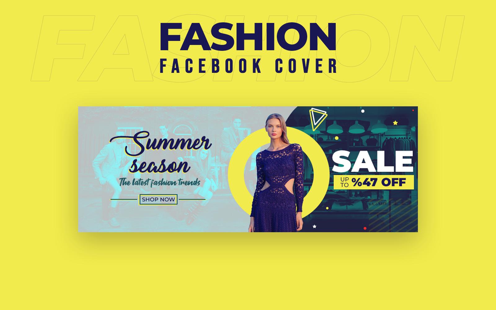 Fashion Facebook Cover Social Media
