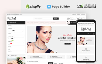 Dream Jewellery Store Shopify Theme