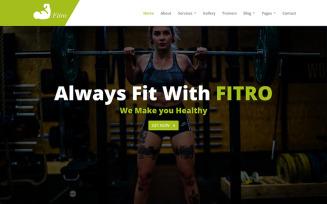 Fitro - Fitness HTML5
