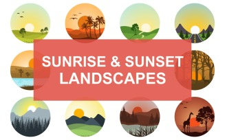 10 Sunrise & Sunset Landscapes