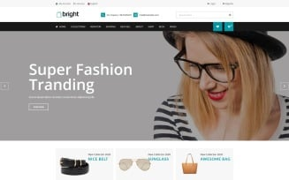 Bright Shop eCommerce HTML Theme Website Template