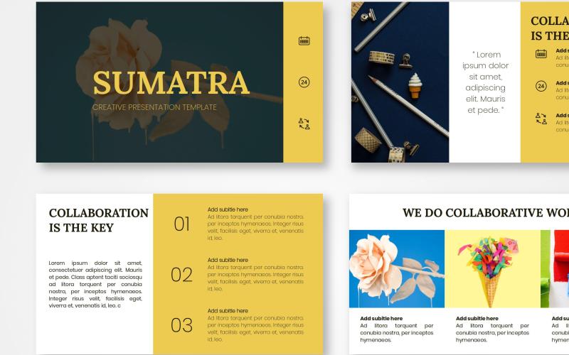 Sumatra - Creative PowerPoint Template