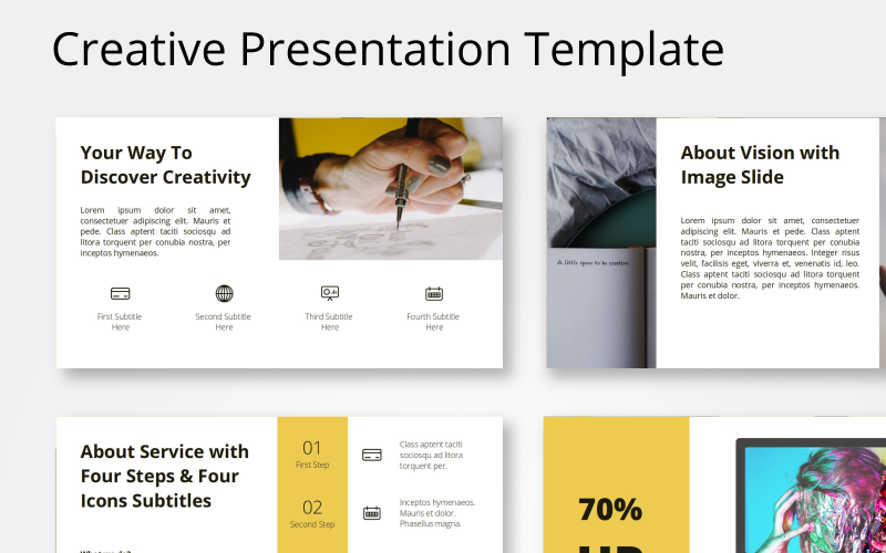 Indah - Creative PowerPoint Template