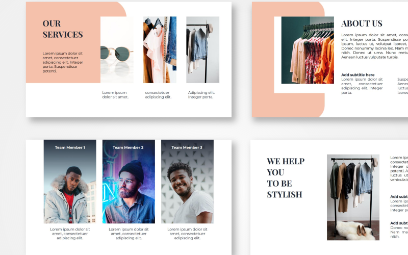 Maudy - Fashion PowerPoint Template