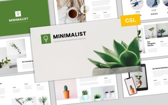 Minimalist - Simple & Modern Business Google Slides Template