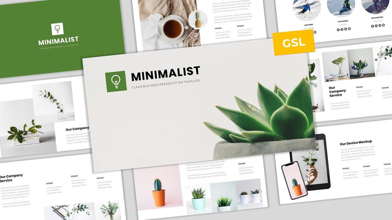 Minimalist - Clean Business Google Slides