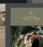 Бракосочетания. Шаблон сайта 100735