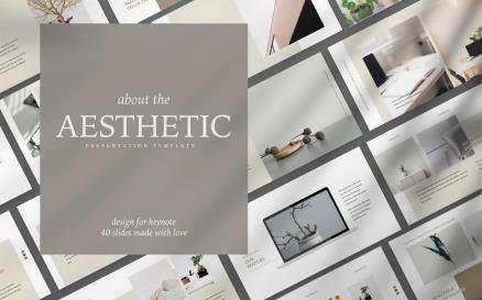 Aesthetic Presentation Google Slide