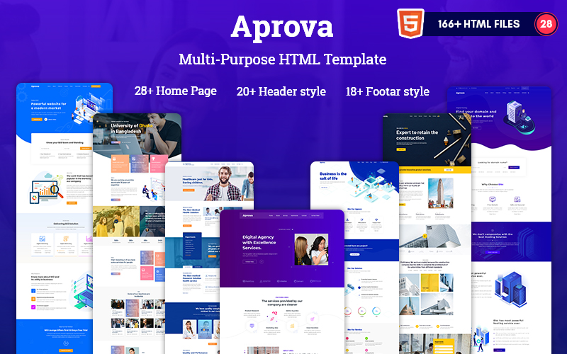 Aprova - MultiPurpose  HTML5 Responsive Website Template