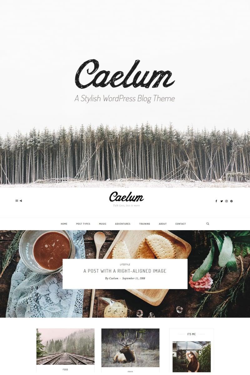 Caelum - Minimalistic WordPress Theme