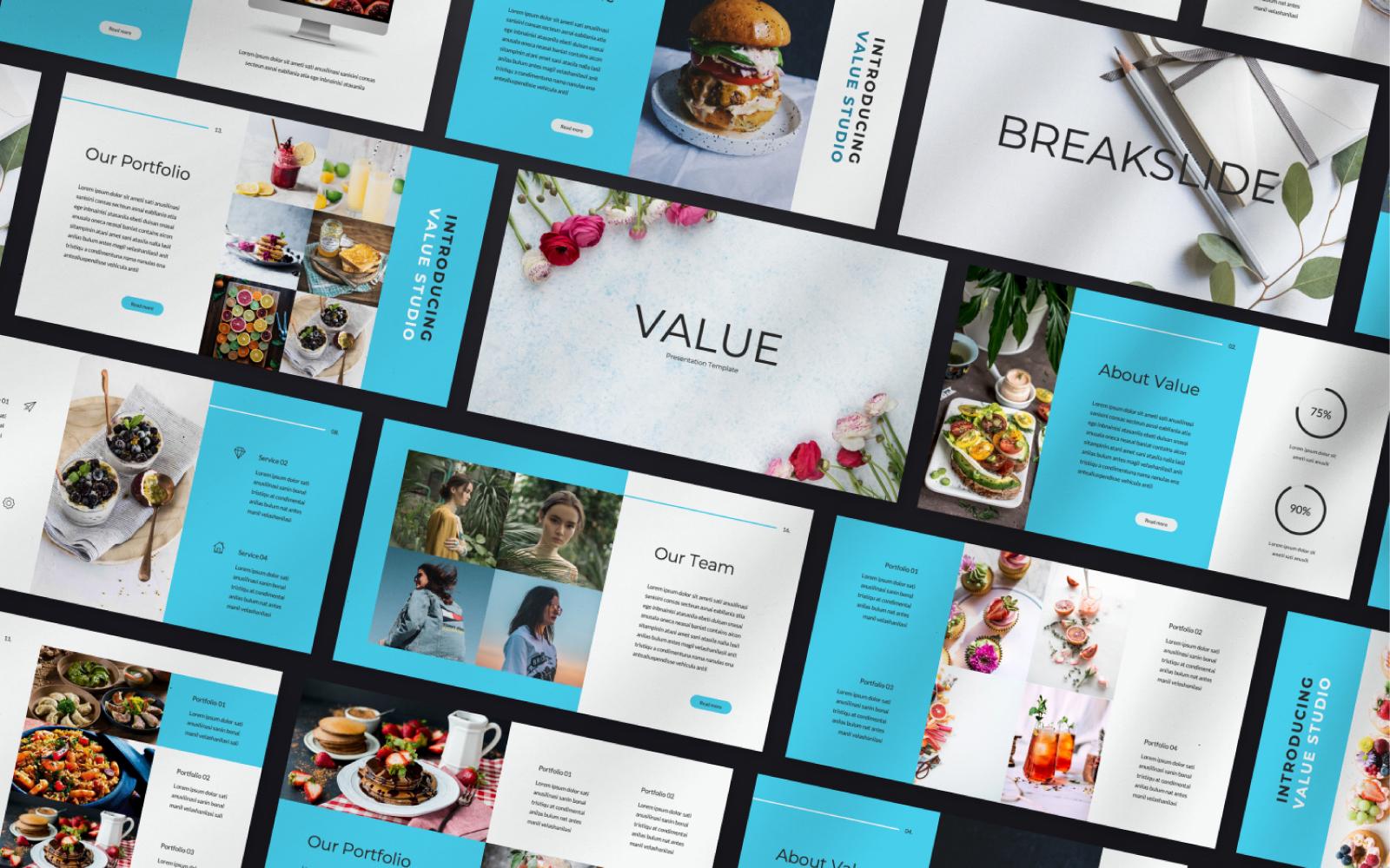 """""""Value Studio"""" Google Slides №100765"""