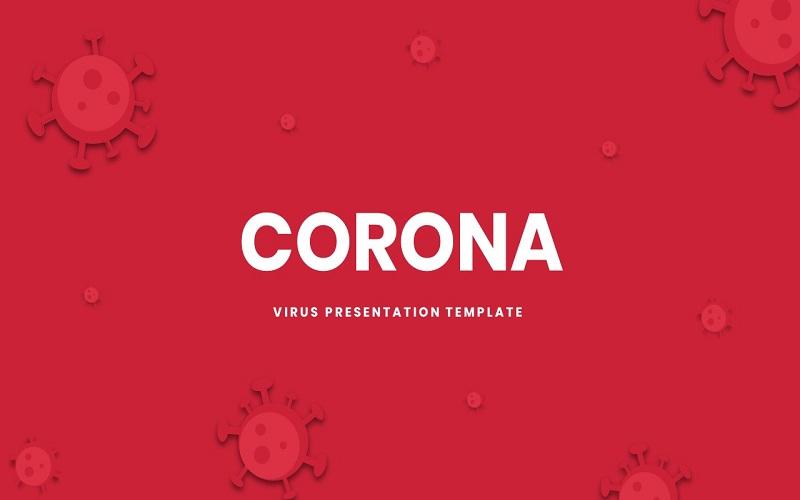 Corona - Presentation PowerPoint Template