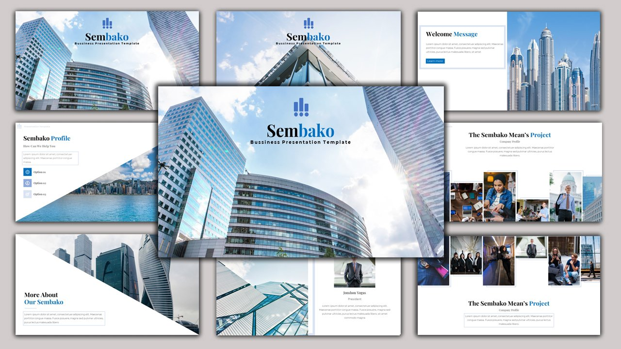 Sembako - Creative Business PowerPoint Template