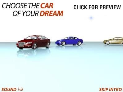 Szablon Intro Flash #10179 na temat: sprzedawca samochodów FLASH INTRO SCREENSHOT