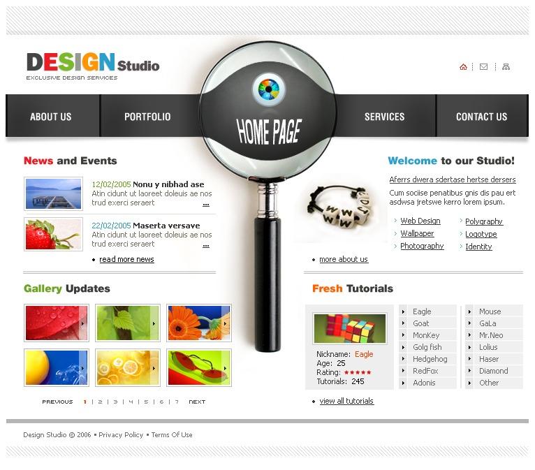 Plantillas web Plantillas web gratis Wix