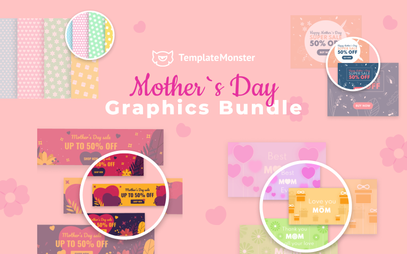 Mother Day Graphics Bundle