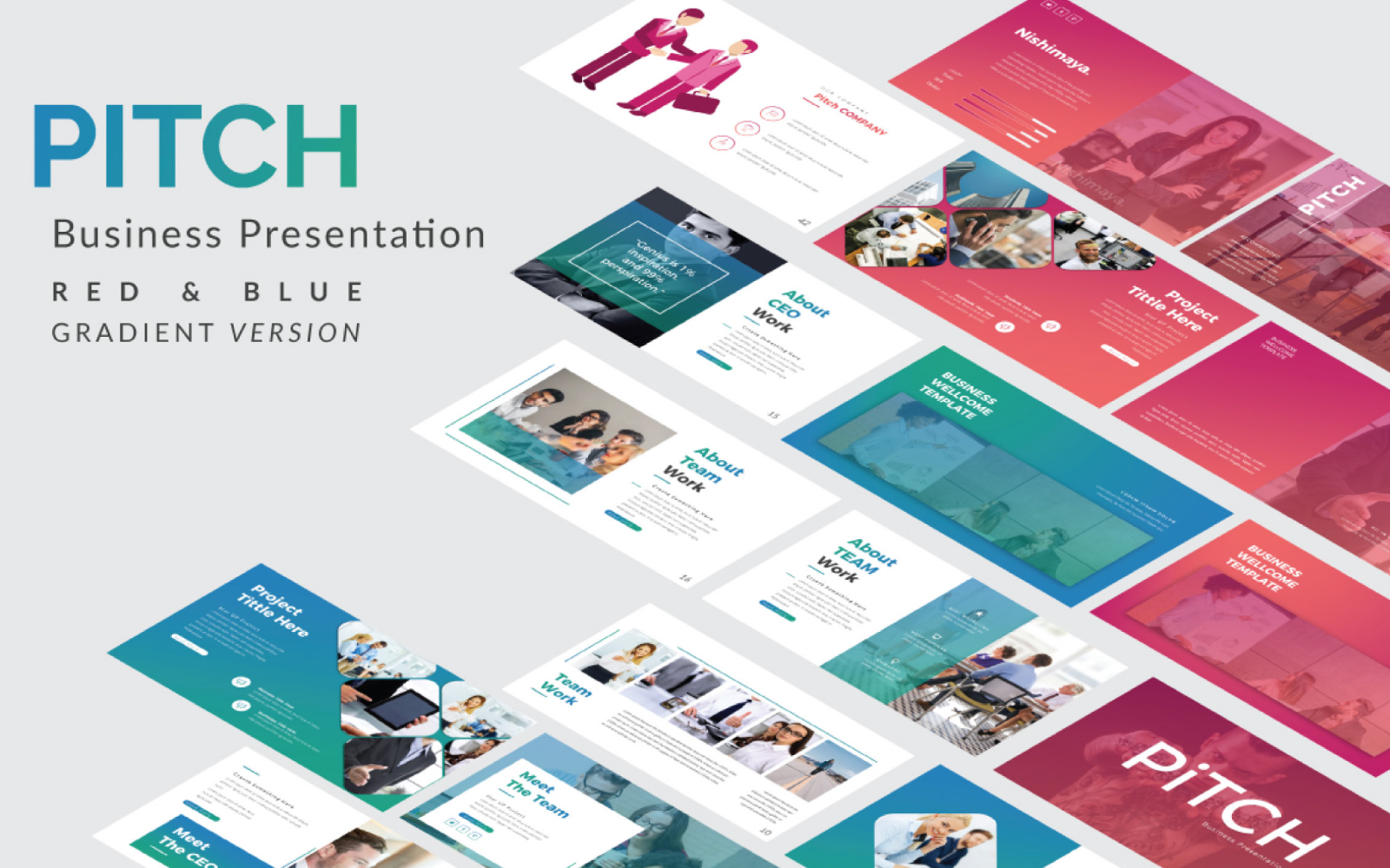 Pitch Presentation Google Slides
