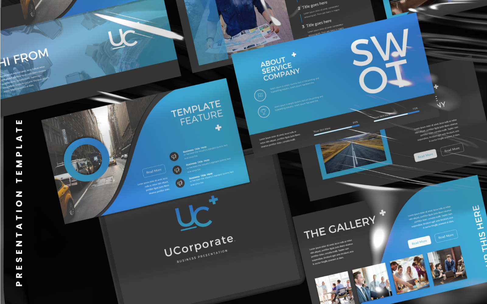 UCorporate Keynote Template