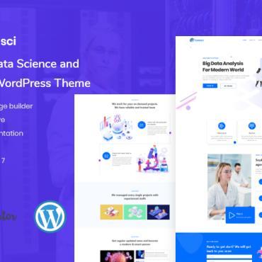 Купить  пофессиональные WordPress темы. Купить шаблон #101119 и создать сайт.