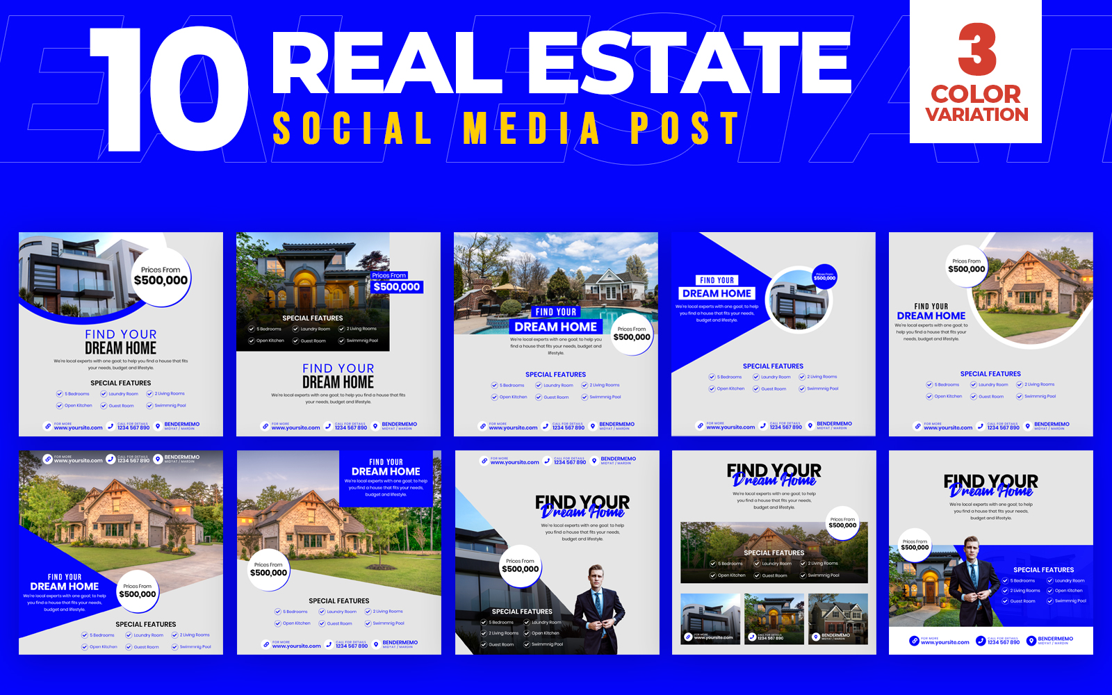 Real Estate 10 Social Media