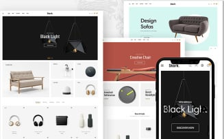 Stark - Furniture Home Decor PrestaShop Theme