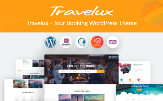 Travelux - Tour Booking WordPress Theme