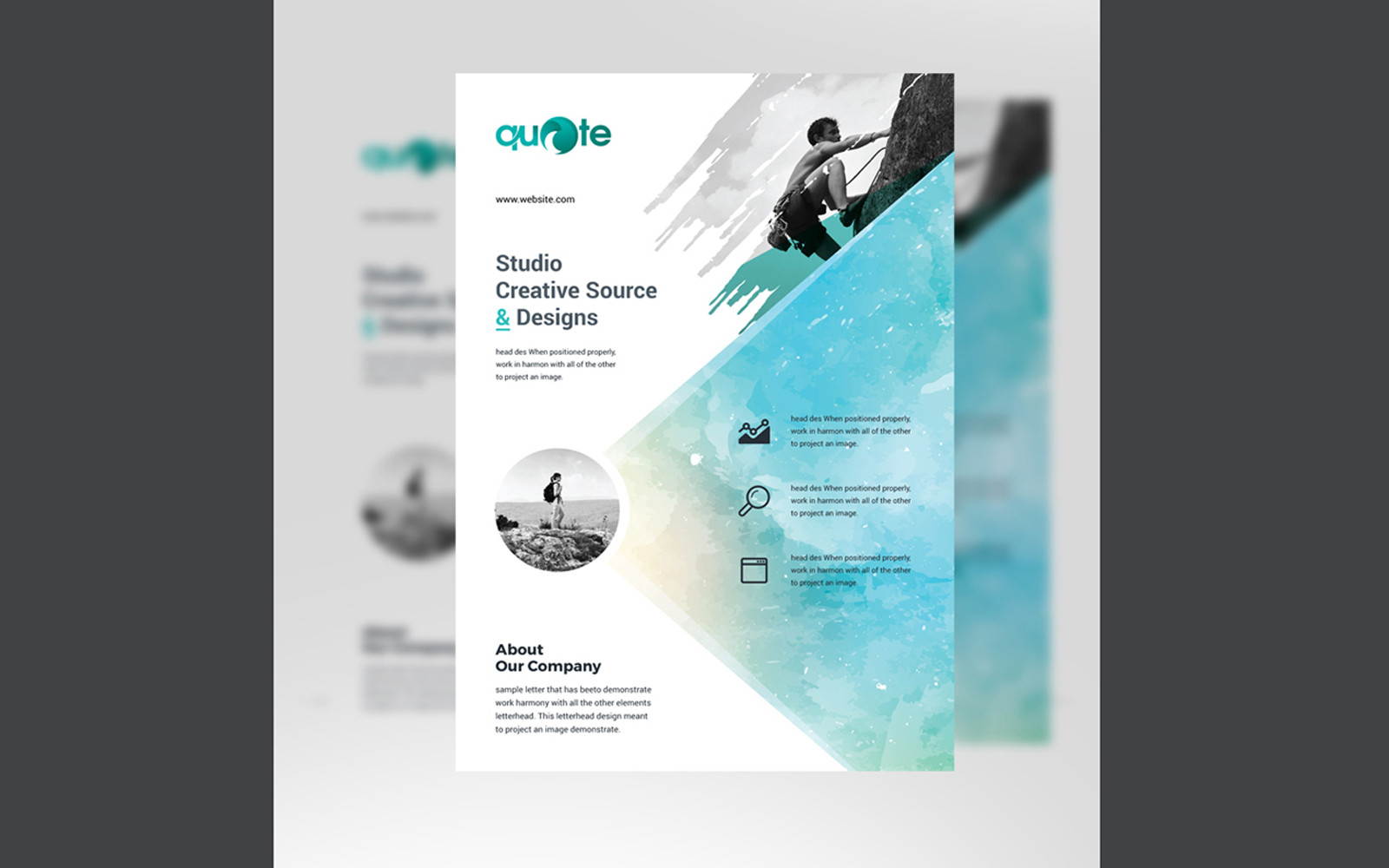 Business Flyer Corporate Identity Template