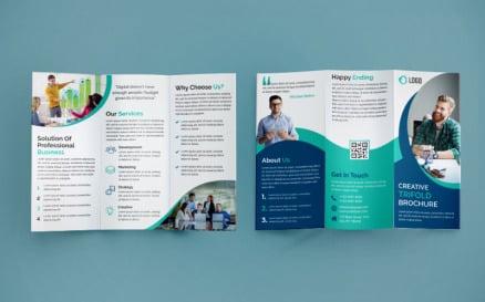 Trifold Brochure Design - Corporate Identity Template