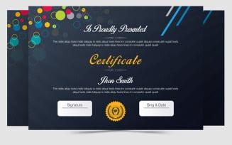Axpro Brand Design Certificate Template