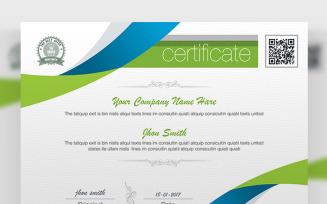 Clean Business Design Certificate Template