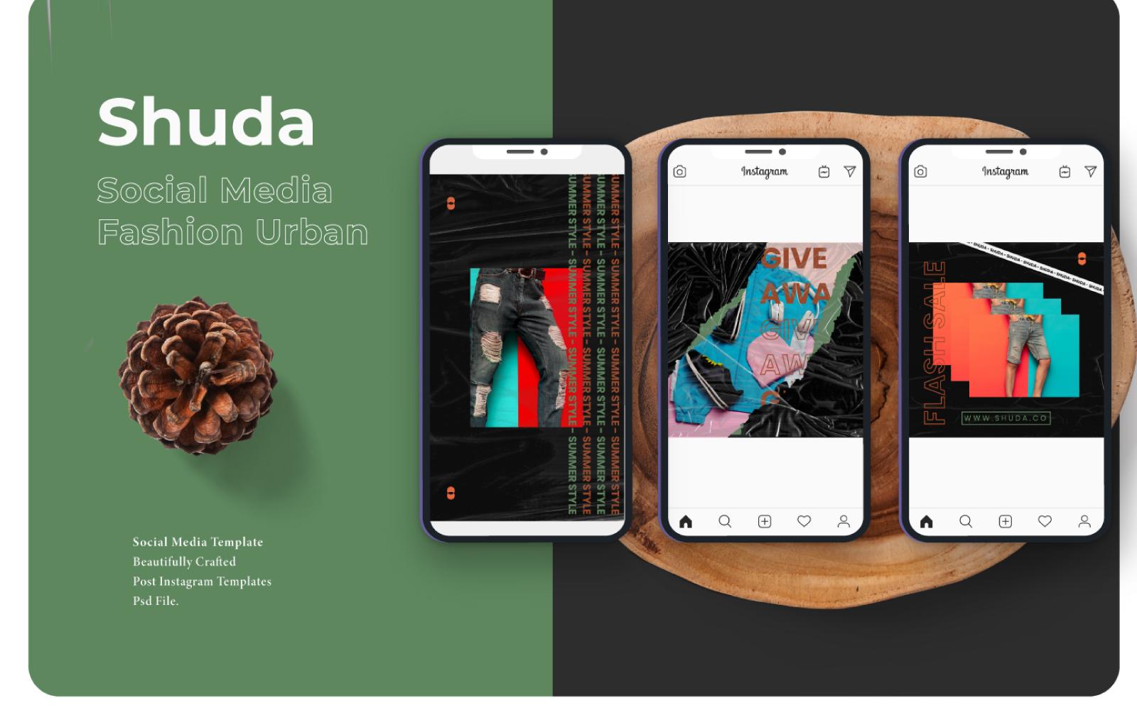 Media społecznościowe Shuda #101399