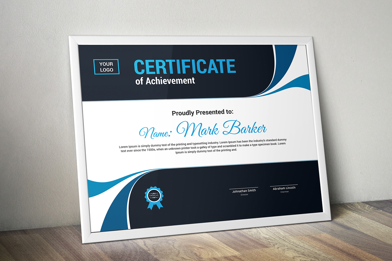 """Plantilla De Certificado """"Modern"""" #101322"""