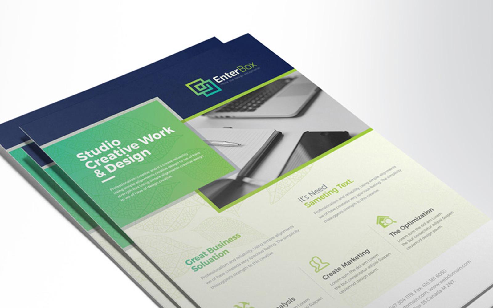 Water Color & Creative Clean Design Corporate Identity Template