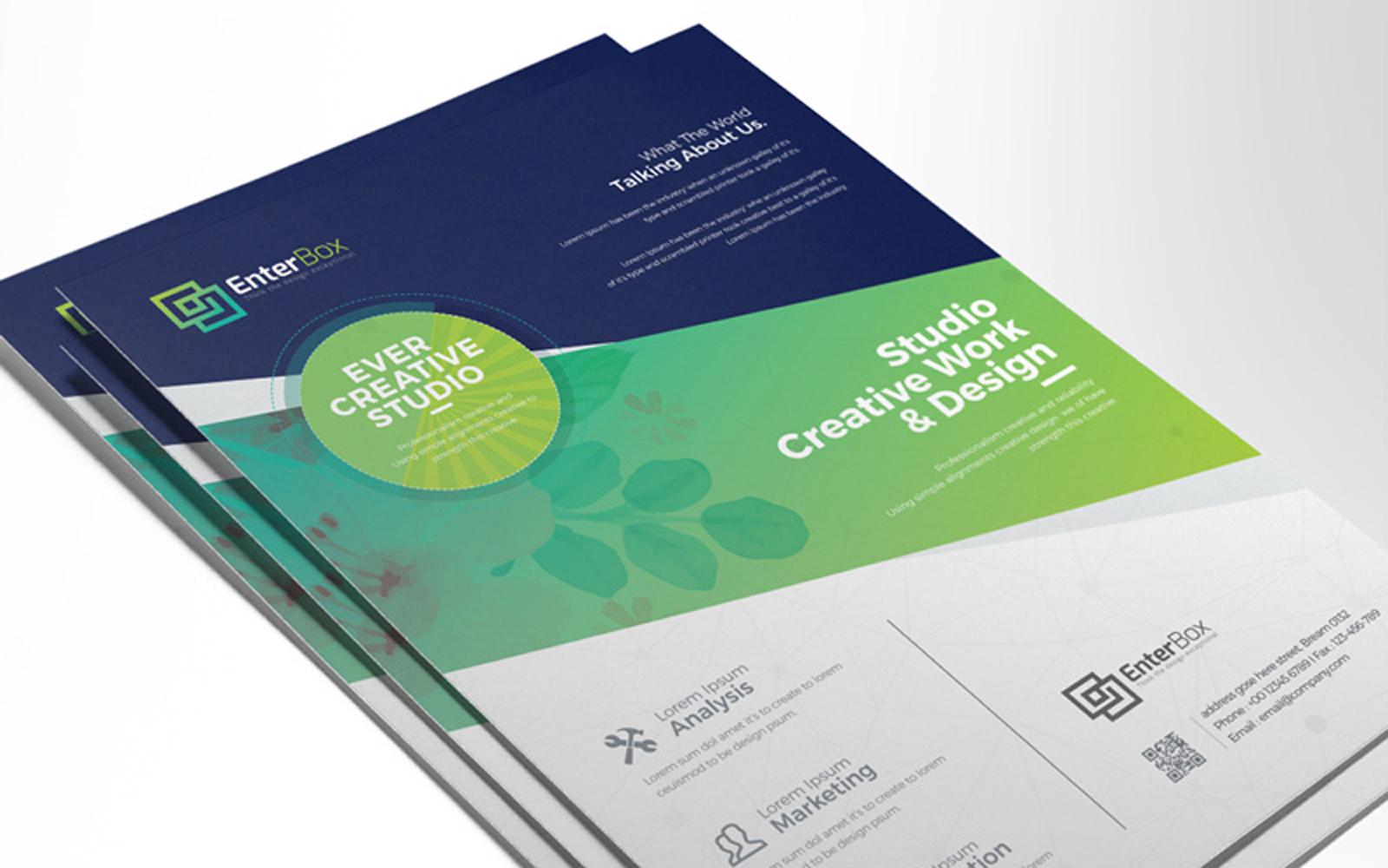 WaterColor & Creative Clean Design Corporate Identity Template
