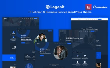 Logonit - IT Solutions and Business Service WordPress Theme