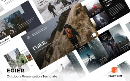 EGIER - Adventure and Travel PowerPoint Template