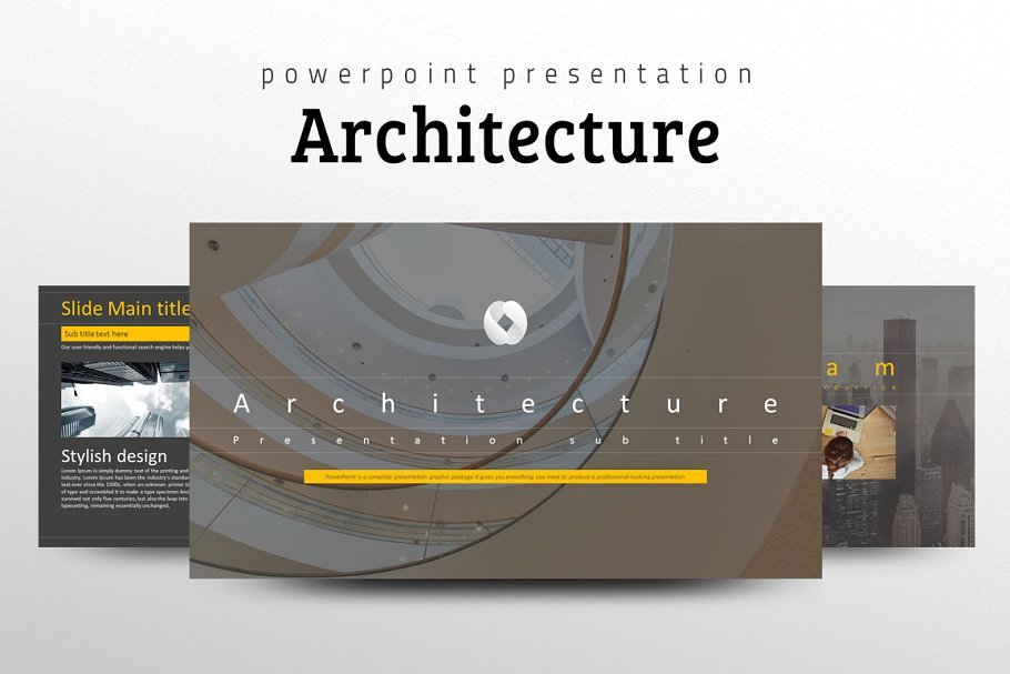 Architecture PPT PowerPoint Template