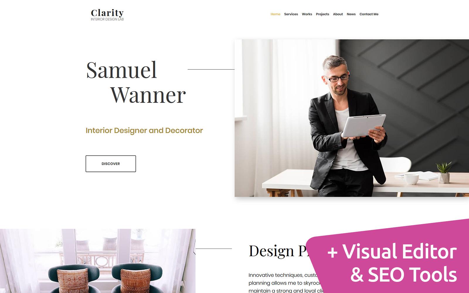 Clarity - Interior Design №101487